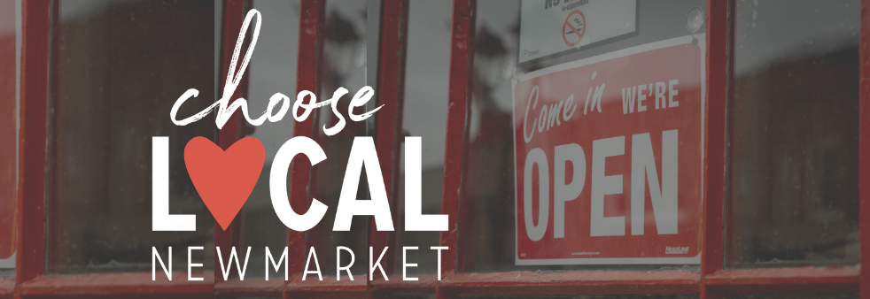 choose local newmarket banner