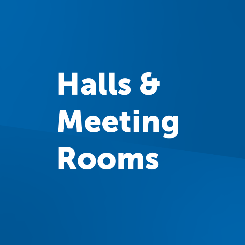 halls and meeting rooms button