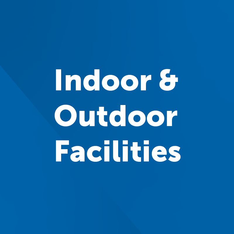 indoor and outdoor facilities button