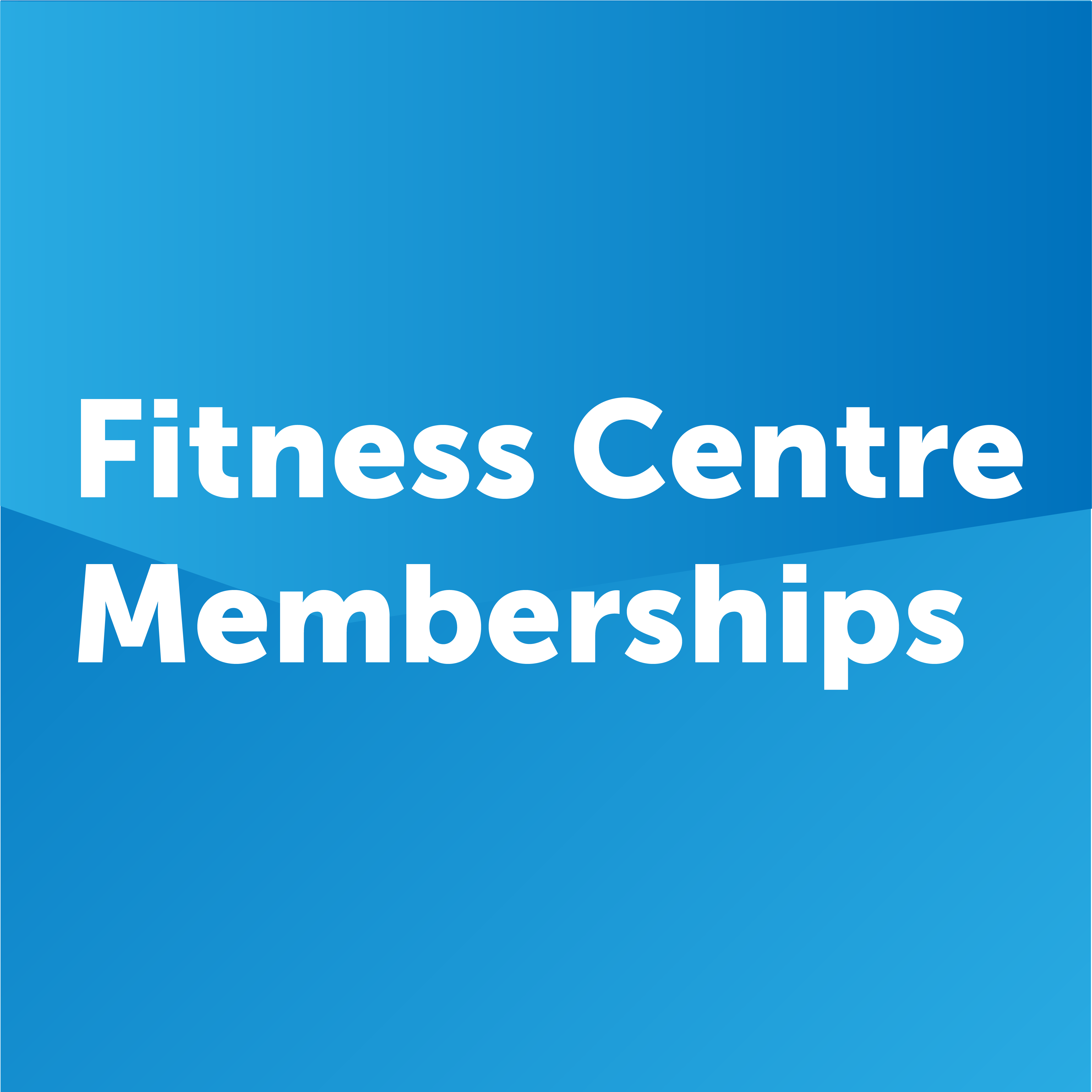 fitness centre memberships button